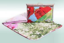 """Одеяло """"Овечья шерсть 3Д"""" микросатин 150г/м2 чемодан ОШОЕМо"""