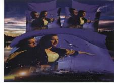 """Постельное белье из микросатина """"Бамбук-Верона"""" (валовые) Евро 2,0/2,2 (диз.: 13043) КВЕв"""