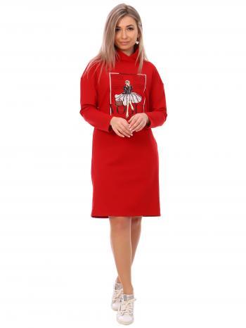 П-023 НСД Платье женское (футер) П-023 НСД