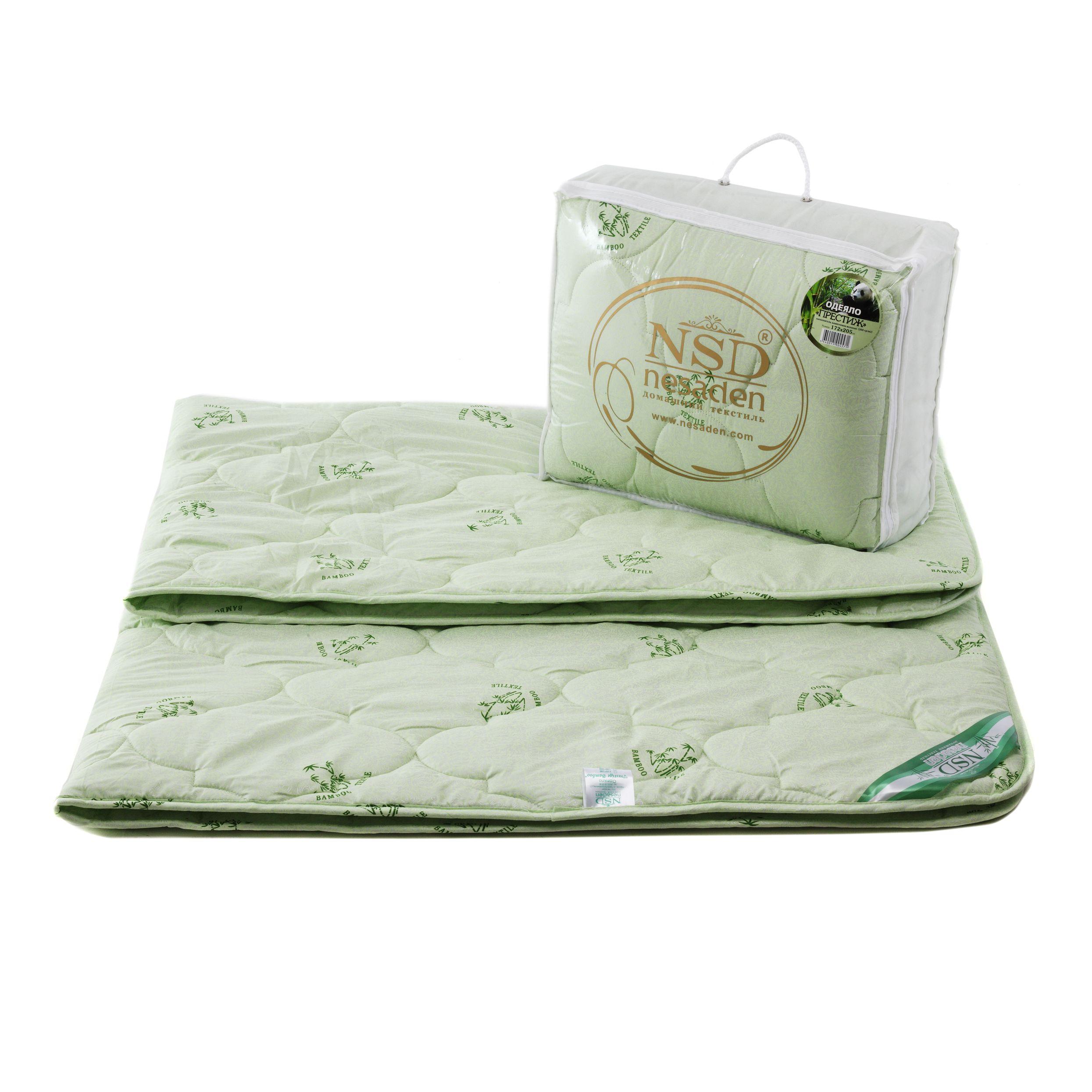 """Одеяло """"Престиж - бамбук"""" глоссатин 300г/м2 чемодан ОПЕб"""