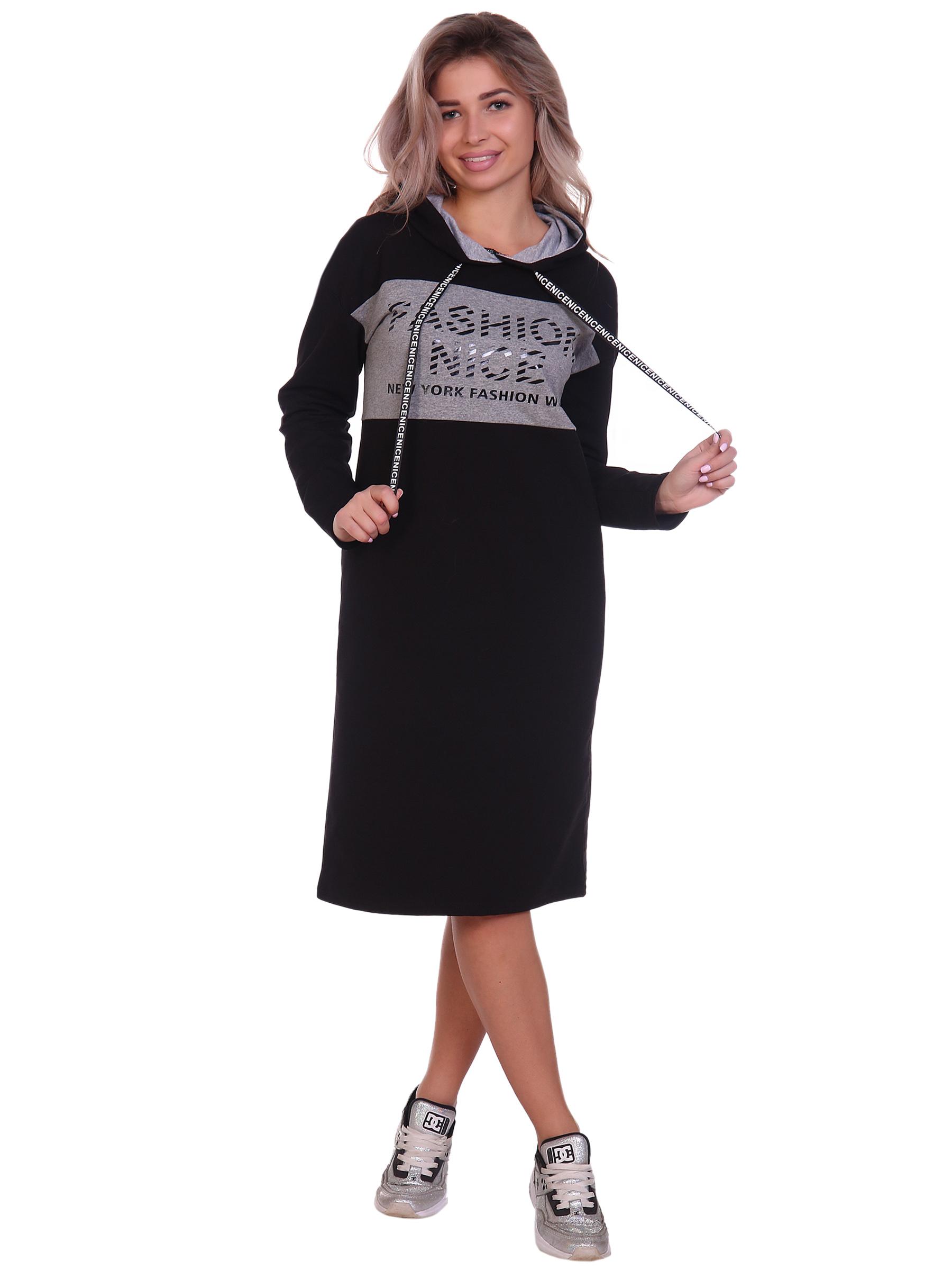 П-018 НСД Платье женское (футер) П-018 НСД