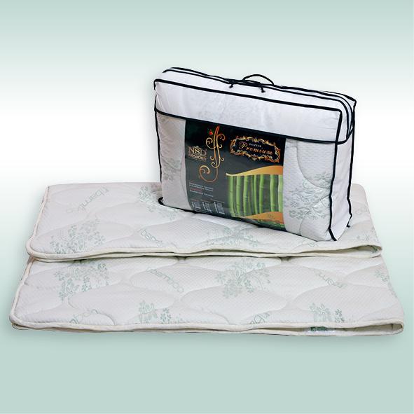 """Одеяло """"Бамбук Premium"""" трикотаж 300г/м2 чемодан ОБПЕ"""