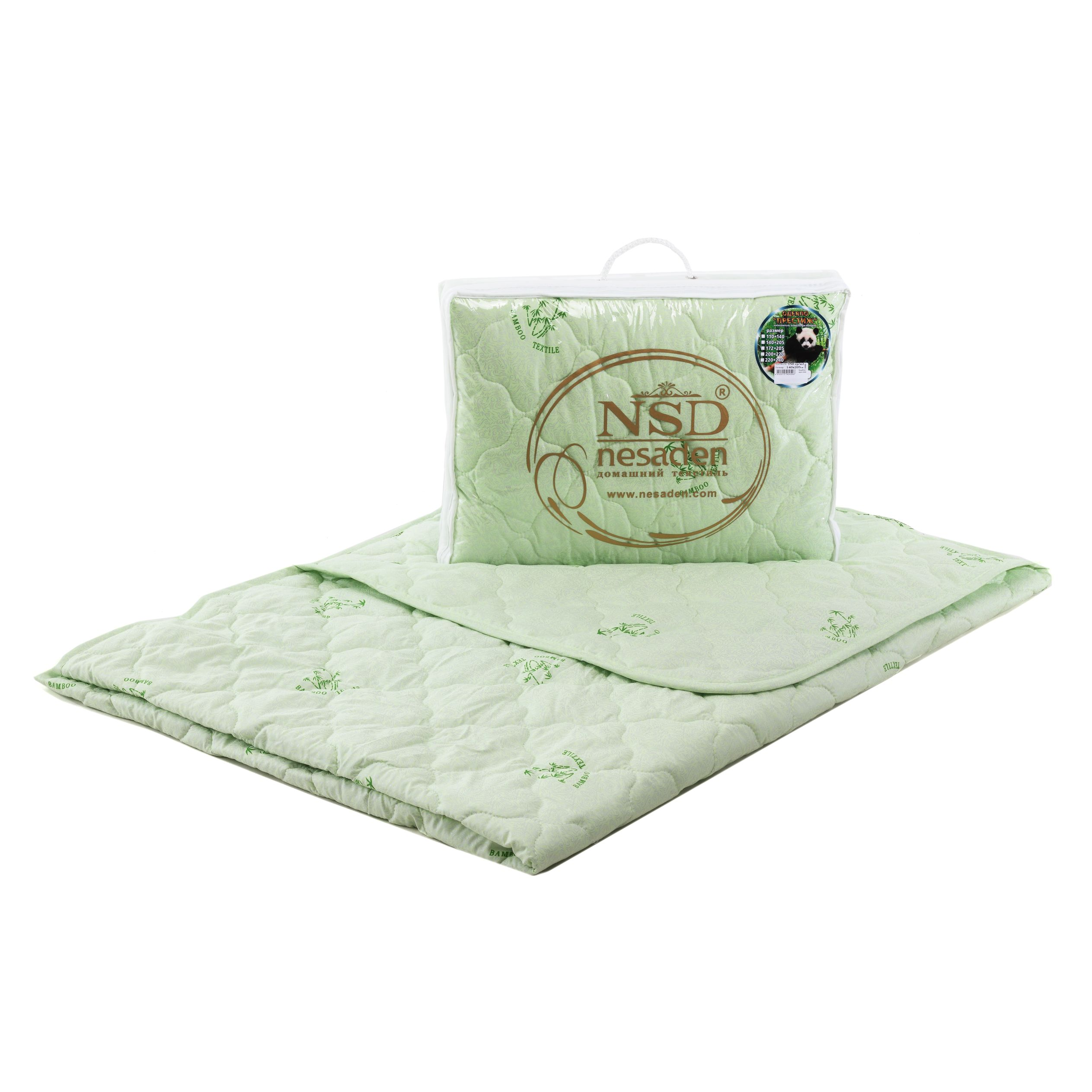 "Одеяло ""Престиж - бамбук"" глоссатин 150г/м2 чемодан ОПБЕо"
