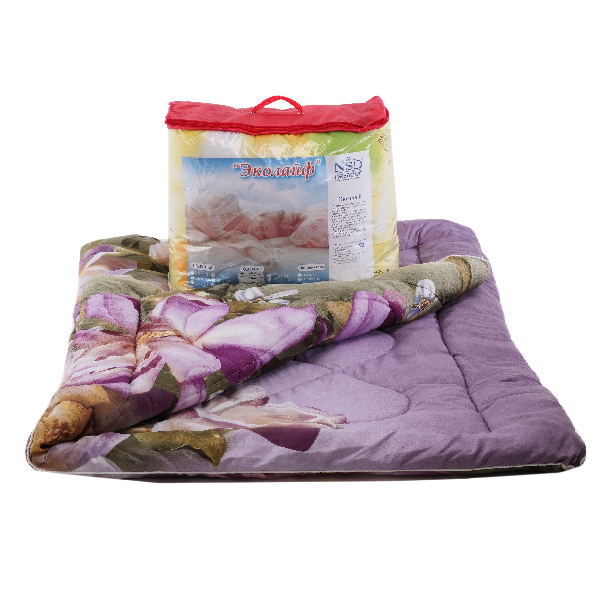 "Одеяло ""Эколайф"" микросатин чемодан ОШОЕМо"